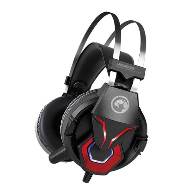 Слушалки Marvo HG8914, микрофон, гейминг, USB/3.5 mm, черни image