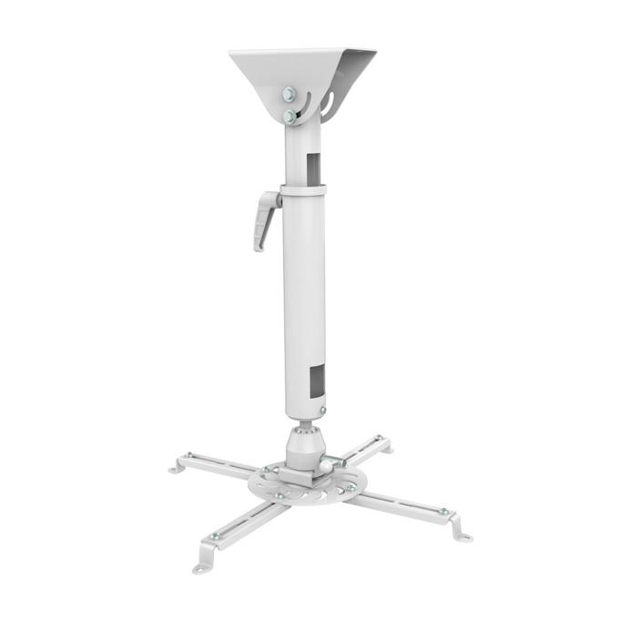 Стойка за проектор Sunne PRO300L, за таван, въртене на 360° и наклон до 20°, регулиране на дължината от 620мм до 900мм, до 25кг image