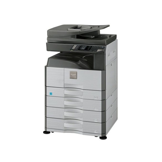 Мултифункционално лазерно устройство Sharp AR6026N, монохромен, принтер/копир/скенер, 600 x 600 dpi, 26 стр/мин, LAN100, USB, A3 image