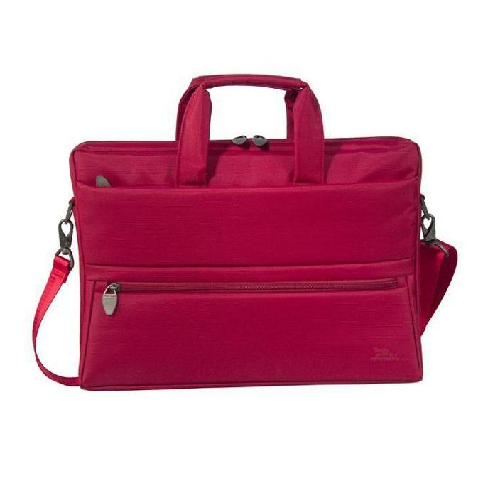 "Чанта за лаптоп Rivacase 8630 до 15.6"" (39.60 cm), полиестер, червена image"