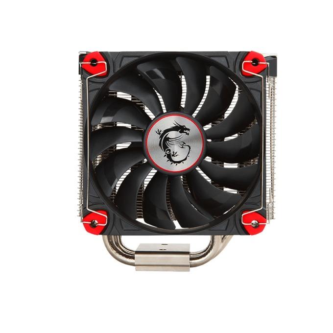 Охлаждане за процесор MSI Core Frozr L, съвместимост с Intel: LGA 2066/LGA 2011-3/2011/1366/1156/1155/1151/1150/775, AMD: AM4/ FM2/ FM1/ AM3+/ AM3/ AM2+/ AM2, черен image