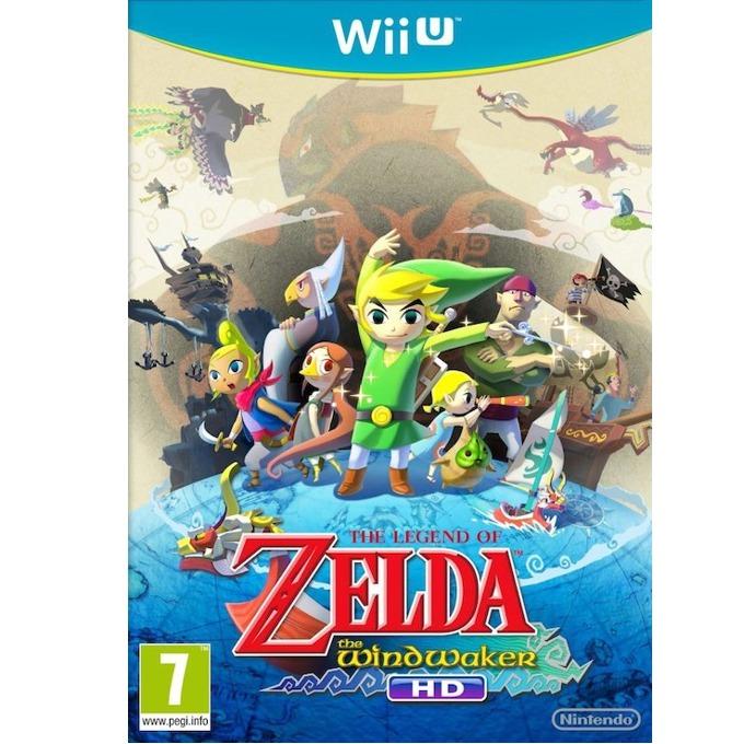 Игра за конзола Legend of Zelda: The Wind Waker HD, за Wii U image