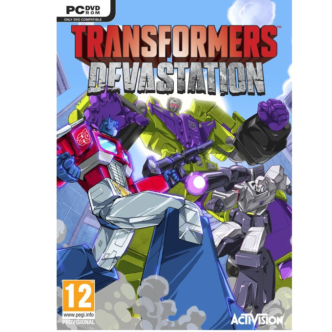 Игра Transformers Devastation, за PC image