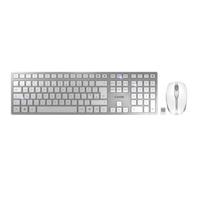 CHERRY DW 9000 SLIM, Бял/Сребрист product