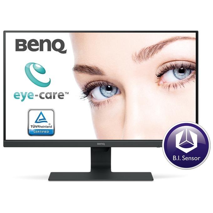 """Монитор BenQ GW2480 (9H.LGDLA.TBE), 23.8"""" (60.45 cm) IPS панел, Full HD, 5ms, 12 000 000:1, 250 cd/m2, DisplayPort, HDMI, VGA image"""