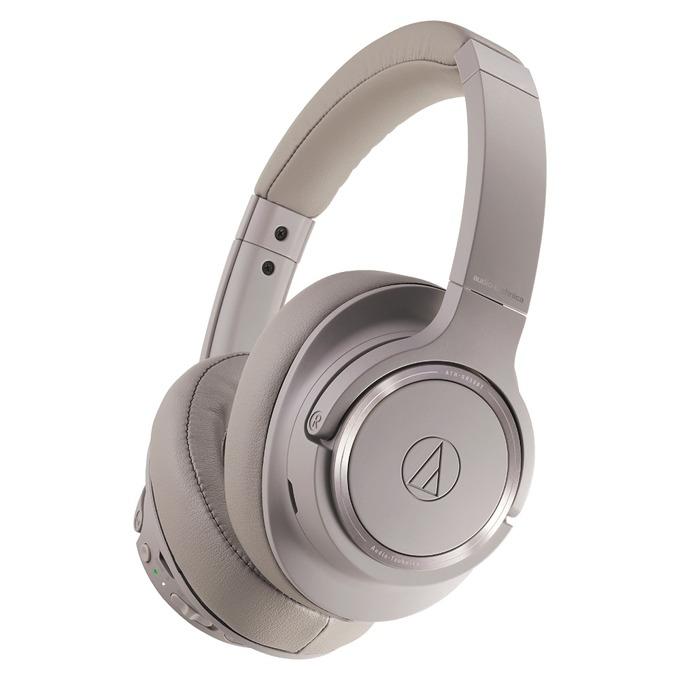 Слушалки Audio-Technica ATH-SR50BT, безжични, микрофон, сиви image
