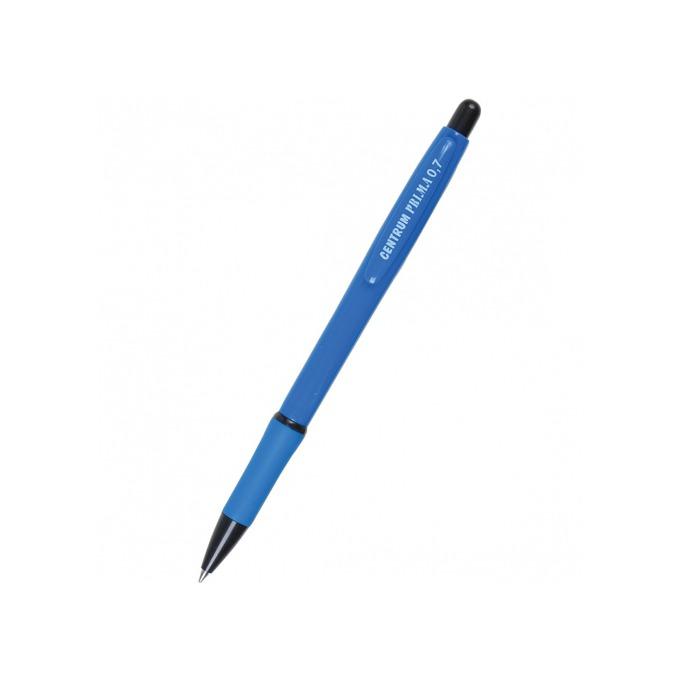 Химикалка Centrum Prima, син цвят на писане, 0.7 mm, различни цветове, цената е за 1бр. (продава се в опаковка от 40 бр.) image