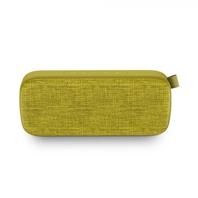 Тонколона Energy Fabric Box 3+ Trend, 2.0, Bluetooth до 9 часа време за работа, жълта ,микрофон, TWS, FM, WAV/ MP3 image