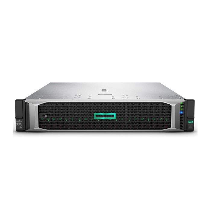 Сървър HPE DL380-G10 (879938-B21), 2x шестнадесетядрени Skylake Intel Xeon Gold 6130 2.1/3.7 GHz, 64GB DDR4 RDIMM, No HDD, 4x 1GbE, 5x USB 3.0, без OS, 2x HPE 800W Platinum image