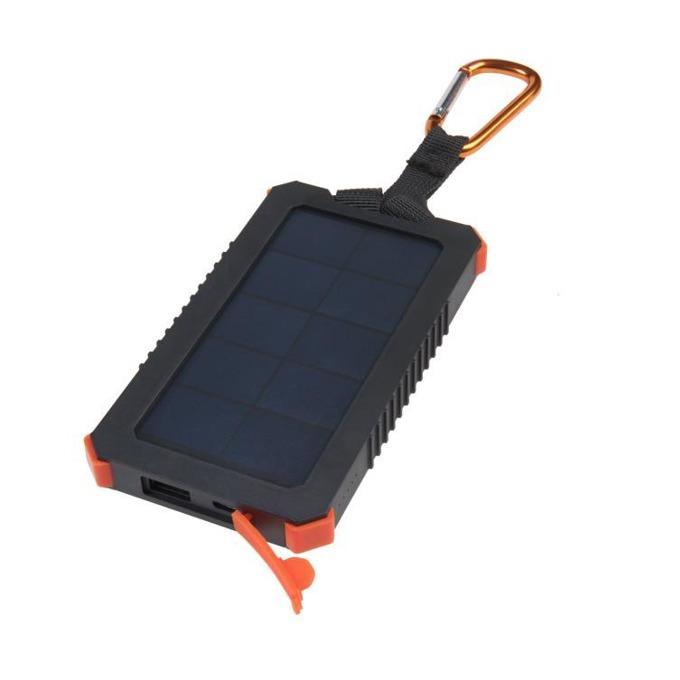 Външна батерия /power bank/ A-solar Xtorm AM122 Solar Charger Impluse 5000, 5000 mAh, черен, със соларен панел image