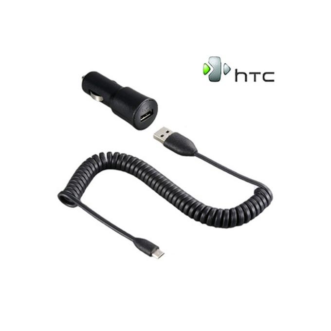 Зарядно за кола HTC Car Charger CC C200 microUSB, за мобилни телефони  image