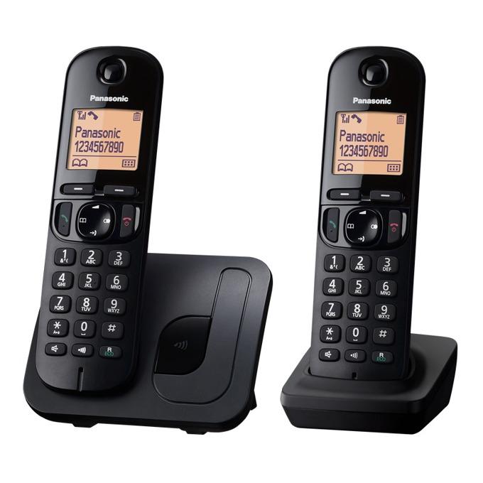 Безжичен телефон Panasonic KX-TGC212FXB 1015129