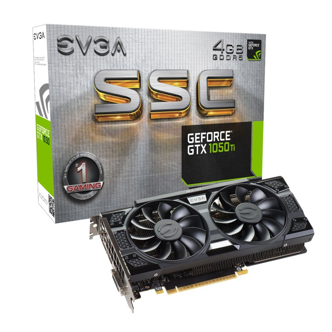 EVGA GeForce GTX 1050 Ti SSC GAMING