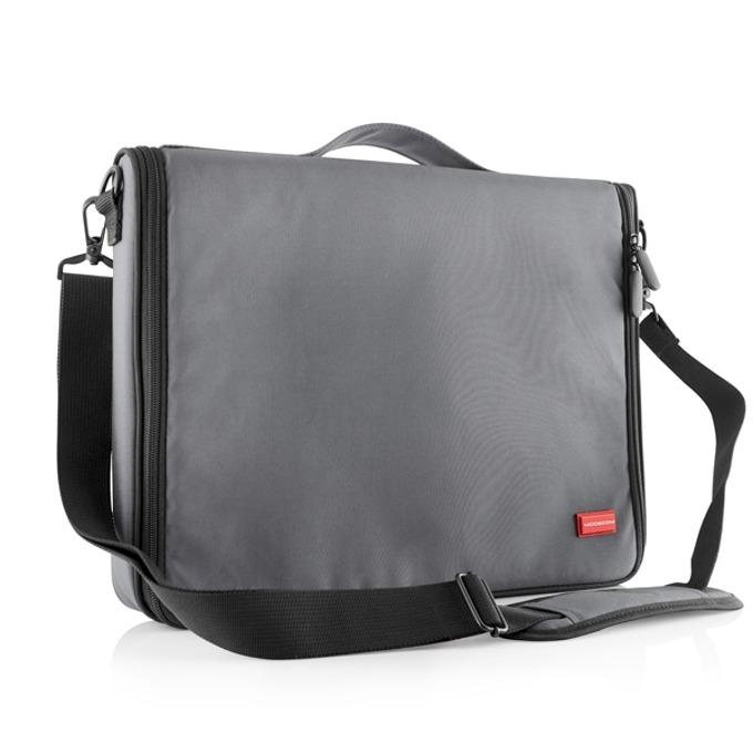 """Чанта за лаптоп Modecom Torino, до 15.6"""" (39.62 cm), два допълнителни джоба, сива image"""