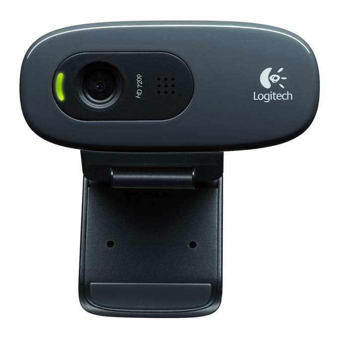 Уеб камера Logitech C270, черна, микрофон image