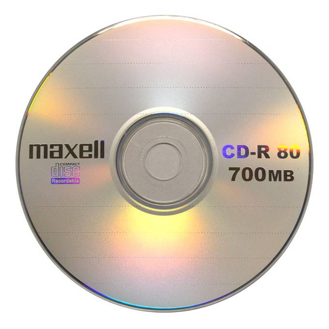 CD-R media 700MB MAXELL