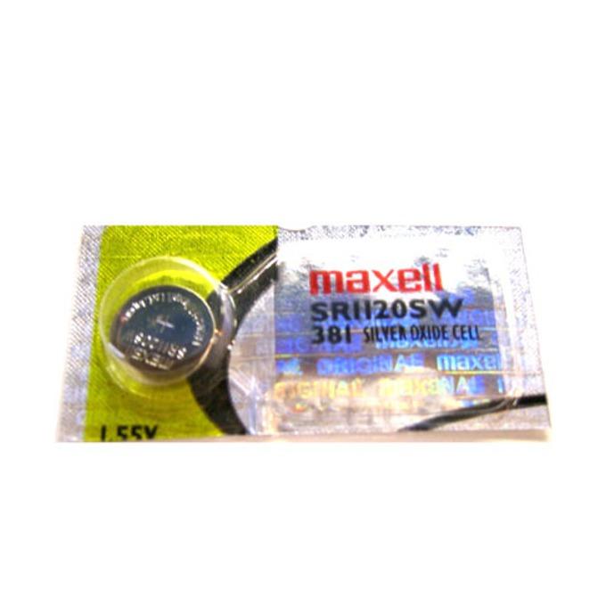 Батерия сребърна Maxell SR, SR1120SW, 1.55V, 1 бр. image