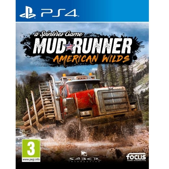 Игра за конзола Spintires Mudrunner - American wilds Edition, за PS4 image