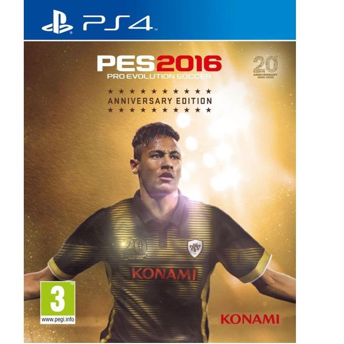 Игра за конзола Pro Evolution Soccer 2016 - Anniversary Edition, за PS4 image