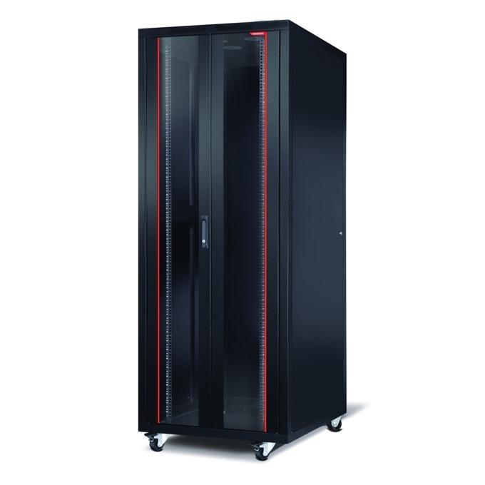 "Комуникационен шкаф Formrack CSM-42U6060, 19"", 42U, 600 x 600 mm, черен image"