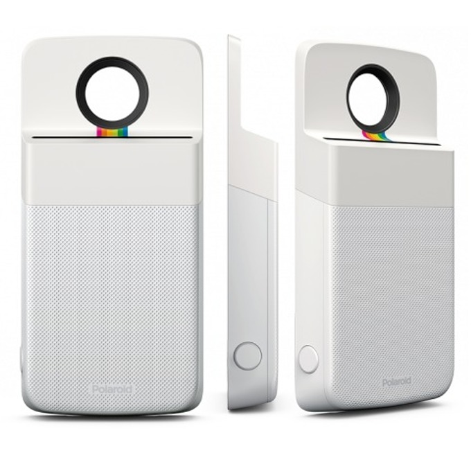 Модул Polaroid Insta-Share Printer, за Moto Z, бял image