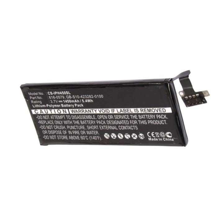 Батерия (заместител) за телефон Apple iPhone 4S 3.7V/1450 mAh image