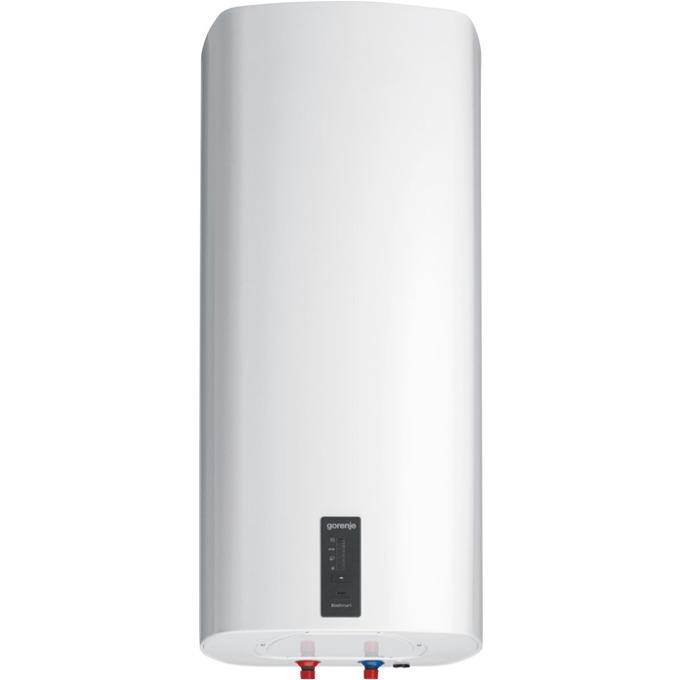 Електрически бойлер Gorenje OGBS 80 SMC6, 78л., вертикален монтаж, 2 kW, емайлирана стомана, енергиен клас B, 45.0 x 95.0 x 44.5 cm, 2 нагреватела, електронен термометър, двойна антикорозионна защита, бял image