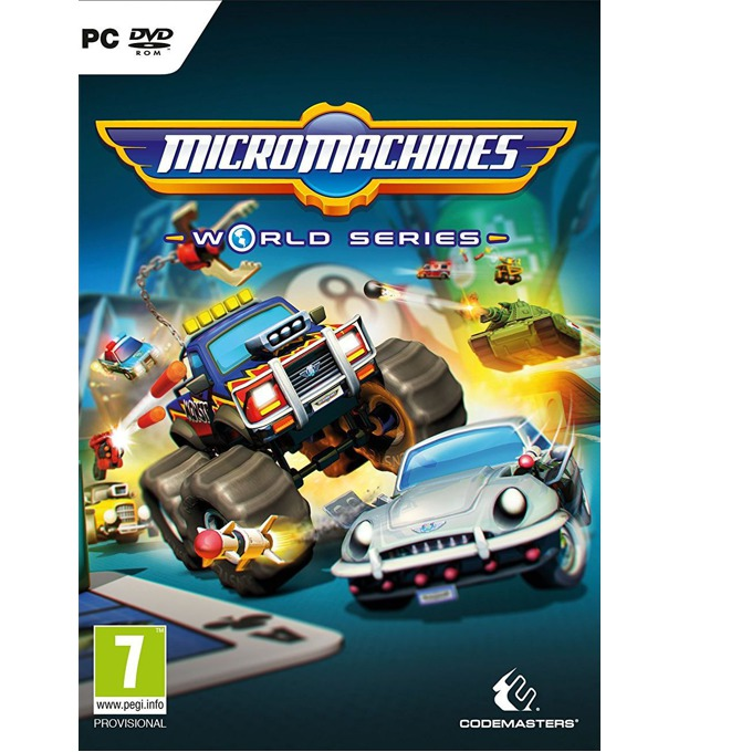 Micro Machines: World Series, за PC image