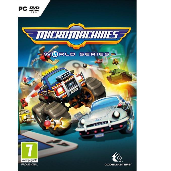 Игра Micro Machines: World Series, за PC image