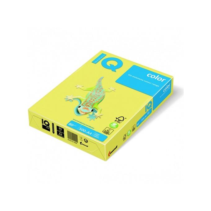 Хартия Mondi IQ Color CY39, A4, 80 g/m2, 500 листа, жълта image