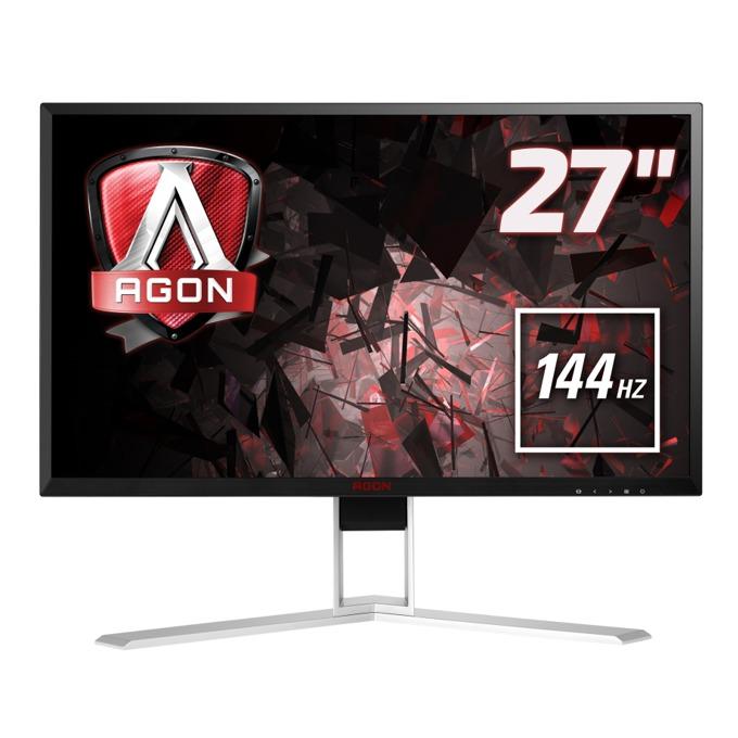 """Монитор AOC AGON AG271QX 27""""(68.58 cm) TN панел, Full HD, 1ms, 50M:1, 350 cd/m2, HDMI, USB image"""