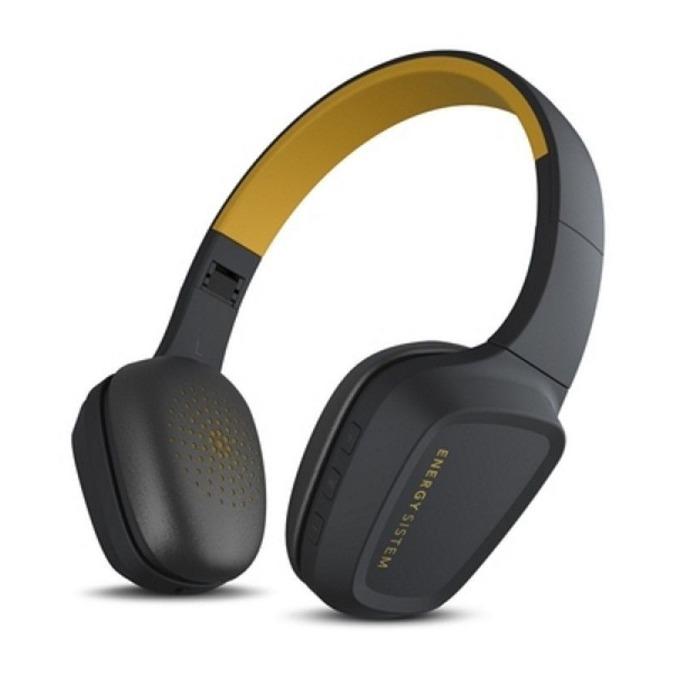 Слушалки ENERGY Headphones 3, безжични, Bluetooth, сгъваеми, жълти image