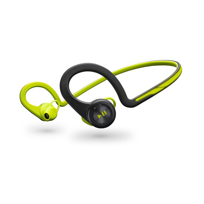 Слушалки Plantronics Backbeat FIT, безжични, зелени, микрофон image