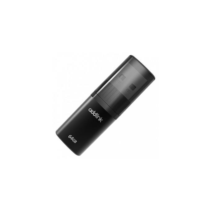 Памет 64GB USB Flash Drive, Addlink U15, USB 2.0, черна image