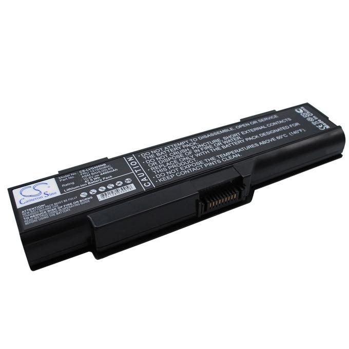 Батерия (заместител) за лаптоп Lenovo, съвместима с модел G400S, 10.8V, 4400mAh, Черен, Cameron sino, 6 cell image