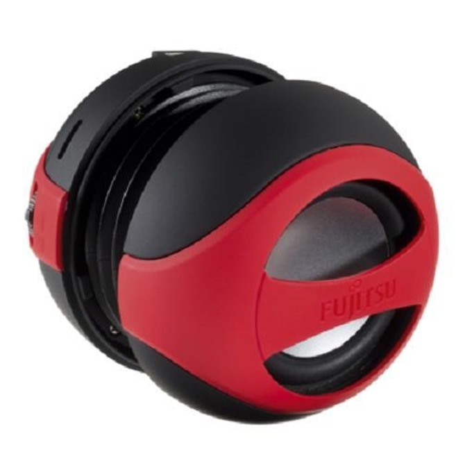 Тонколона Fujitsu Mobile Bluetooth Communication, 1.0, 4W, USB, черно/червена, микрофон image