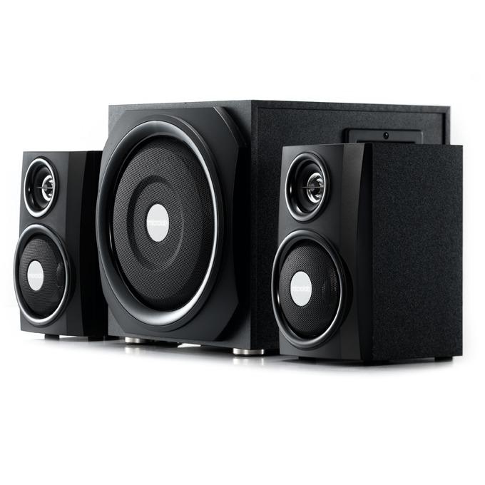 Тонколони Microlab TMN-9, 2.1, 40W RMS (2x 11W + 18W), RCA, USB, Bluetooth, SD card слот, черни image