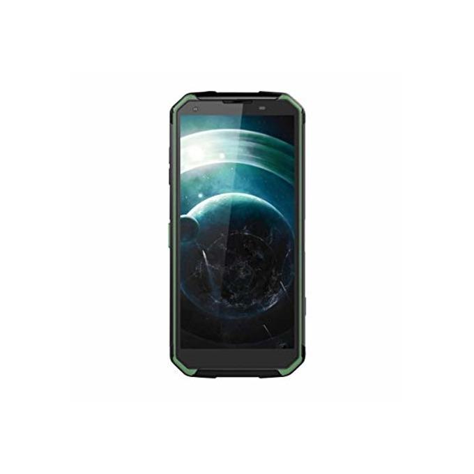 "Xiaomi Blackview BV9500 Pro (черен/зелен), поддържа 2 sim карти, 5.7"" (14.48 cm) Full HD+ IPS дисплей, осемядрен Cortex A53 2.3GHz, 6GB RAM, 128GB Flash памет, 16.0 + 5.0 MPix & 13.0 Mpix камера, Android 8.1, IP69K, 10 000mAh, Walkie-Talkie, 365g image"