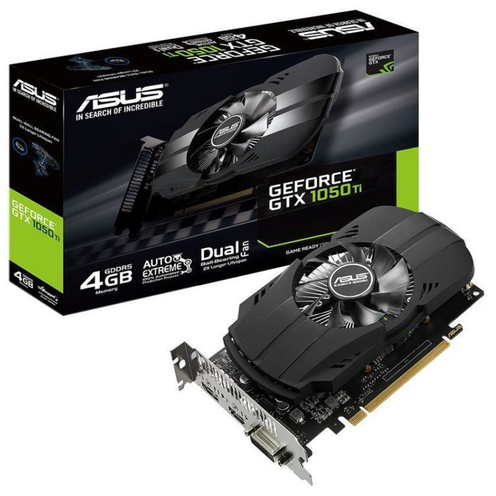 Asus Phoenix GTX 1050Ti 4GB (PH-GTX1050TI-4G)