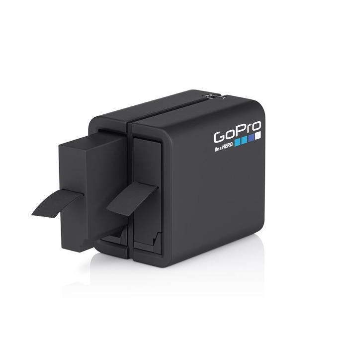 Зарядно устройствo GoPro Dual Battery Charger - HERO4 в комплект с батерия 1160mAh, съвместимо с батерии за камерa GoPro, bulk image
