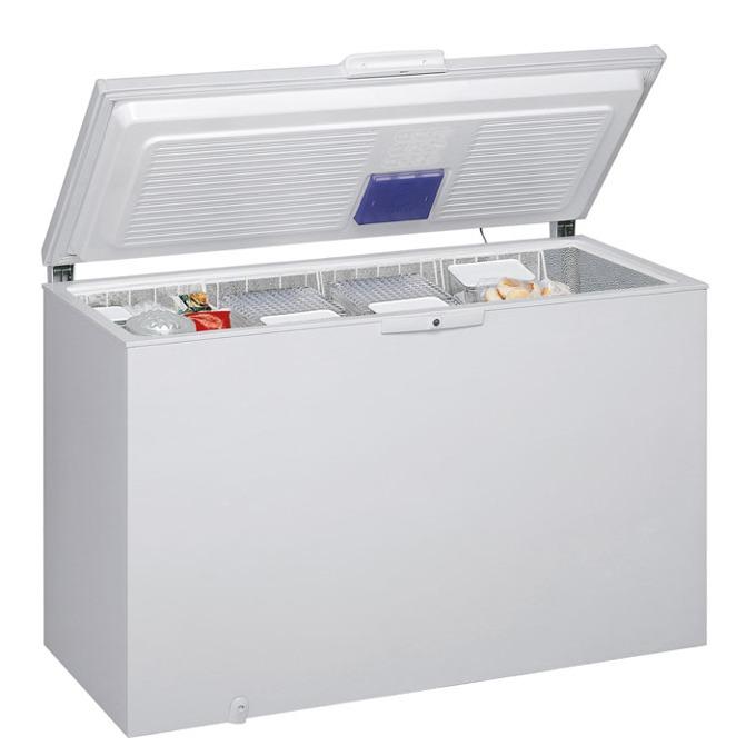 Фризер Whirlpool WHE3933, клас А+, 390 л. общ обем, свободностоящ, 319 kWh/годишно, 6th Sense, 4 чекмеджета, бял image