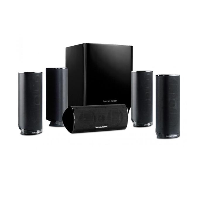 Soundbar система за домашно кино harman/kardon HKTS 16BQ, 5.1, RMS(5x50W + 200W), черна image