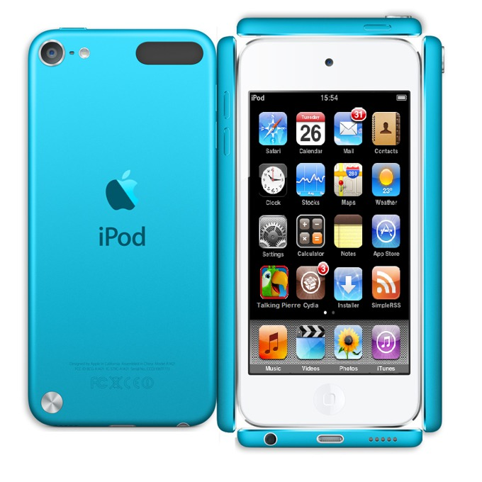 "Apple iPod touch, 4.0"" display, 32Gb, син image"