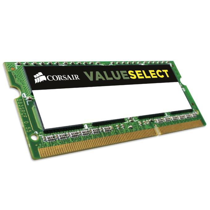 Памет 8GB DDR3L 1600MHz, SO-DIMM, Corsair CMSO8GX3M1C1600C11, 1.35V image