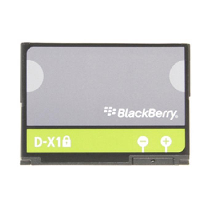 Батерия (оригинална) BlackBerry D-X1 за BlackBerry 8900 Curve, 9500 Storm, 9520 Storm 2, 9630 Tour, 9650 Bold, 1400mAh/3.7V, Bulk image