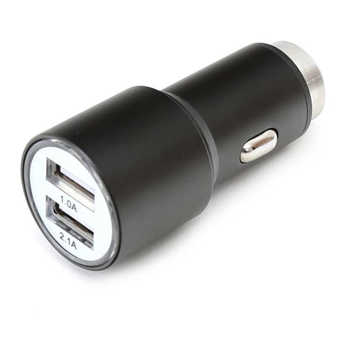 Зарядно за кола Omega Car Charger OUCC2MB, от авт. запалка към 2x USB A(ж), 5V/2.1A, 1.0A, black image