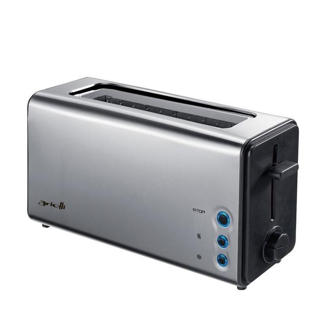 Тостер Arielli AET-1011, 5 степени на работа, функция размразяване, 1050W, инокс image