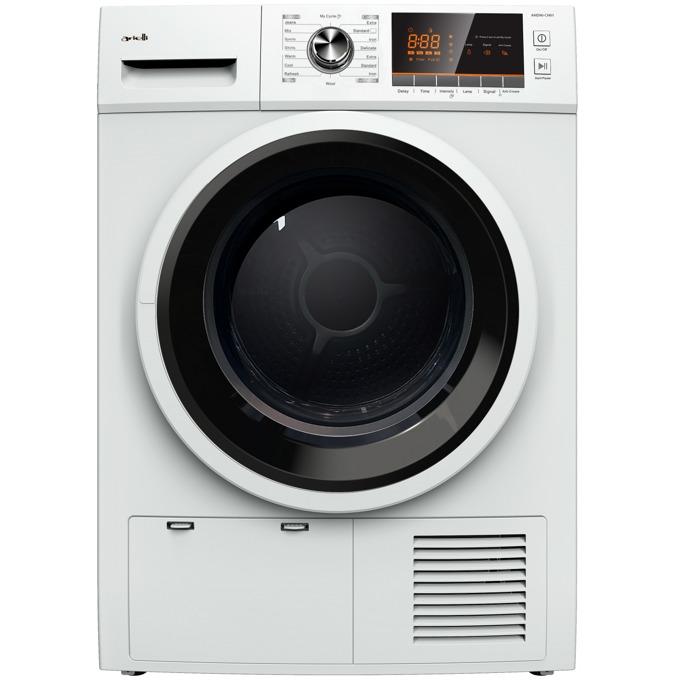 Сушилня Arielli AHD90-CH01, клас A++, капацитет 9 кг., 15+1 програми, дисплей, отложен старт, бяла image