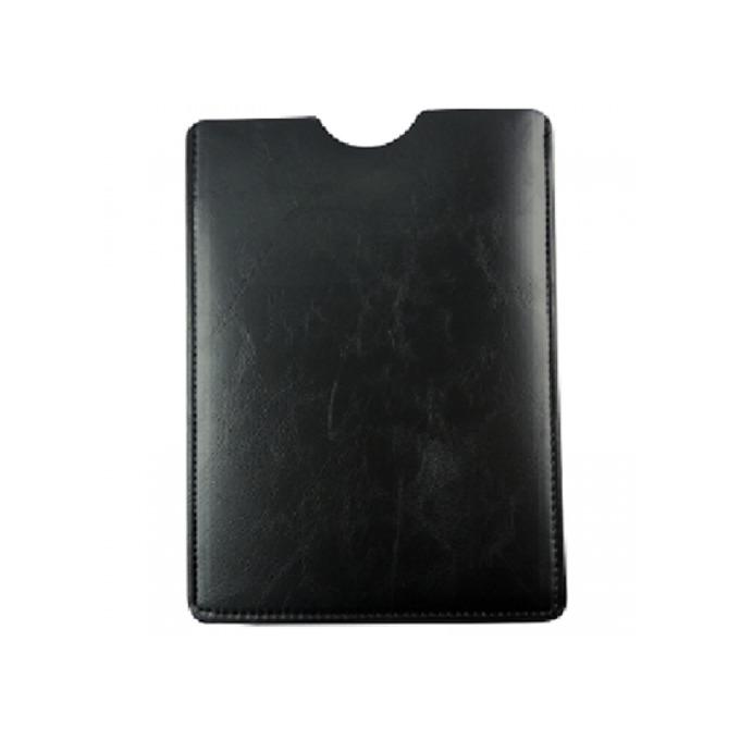 """Калъф за таблет, до 10"""", с кожен джоб, черен image"""