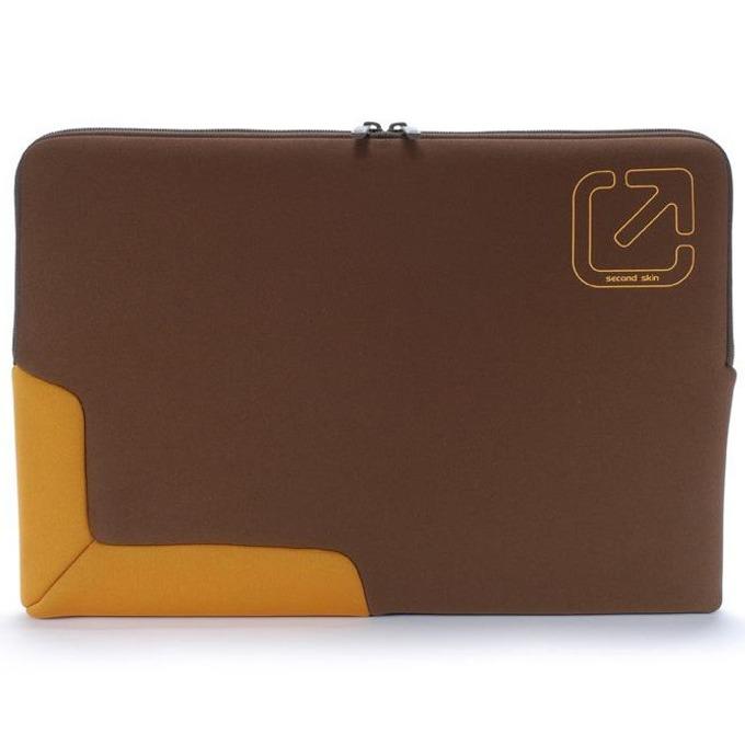 """Калъф за Apple MacBook Pro TUCANO BFGU-MB17-M, 17""""(43.18cm), неопрен, кафяво-оранжев image"""